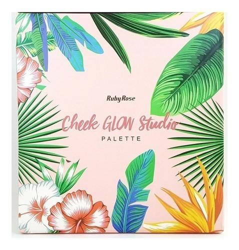 Paleta Cheek Glow Studio Hb7506 - Ruby Rose