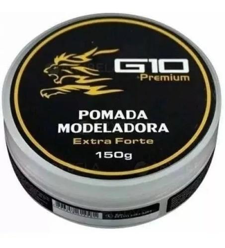 Pomada Modeladora Incolor 150g G10 Premium