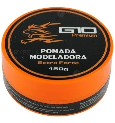 Pomada Modeladora Queratina 150g Extra Forte G10 Premium