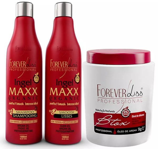 Progressiva Ingel Maxx Organic + Btxx Argan 1kg - Forever Liss