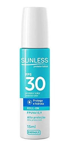 Protetor Labial Fps30 15ml Sunless