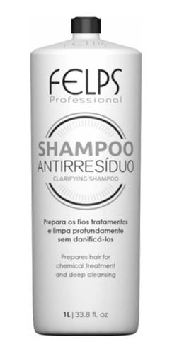 Selagem Ultimate Blond Shampoo Anti Resíduo 1l Felps