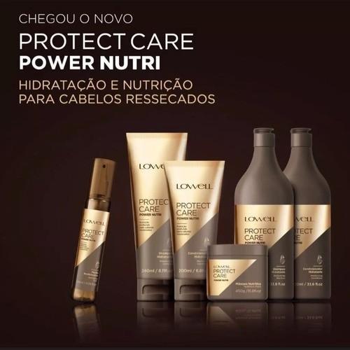 Shampoo Protect Care Power Nutri 240ml - Lowell