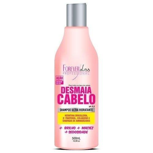 Shampoo Ultra Hidratante Desmaia Cabelo 500ml Forever Liss