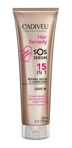 SOS Serum 15 Em 1 Leave-in 50ml - Hair Remedy - Cadiveu