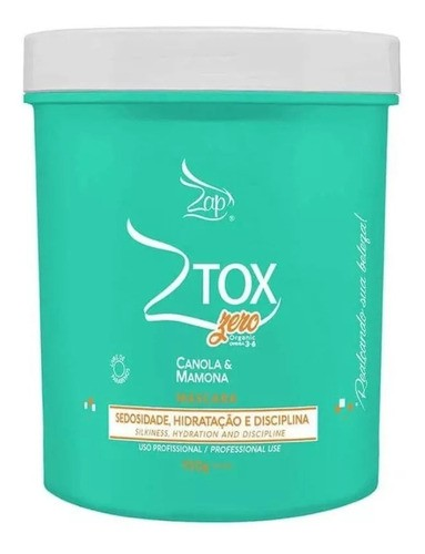 Zap Professional Btox Orgânico Sem Formol 950g
