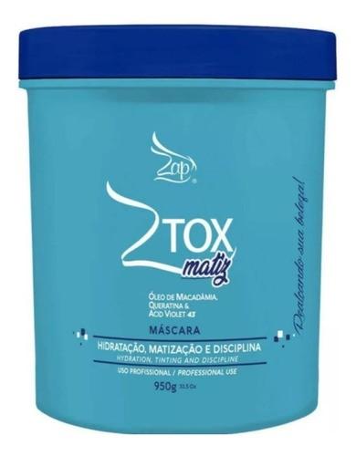 Ztox Matiz Máscara Macadamia Zap Matizador 950g