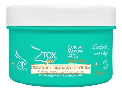Ztox Organico Zero - Btoxx Capilar Profissional 250g - Zap Cosmeticos