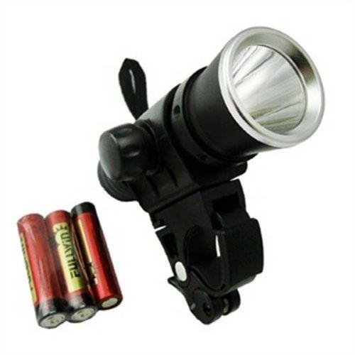 Farol E Lanterna Para Bicicleta 1 Watt De Led