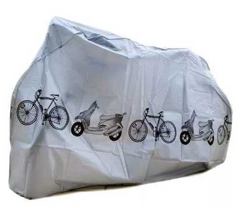 Capa Impermeável Para Bike Ou Scooters Contra Chuva E Sol