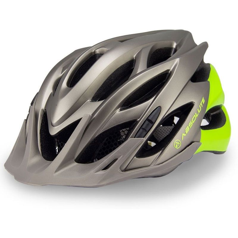 Capacete Ciclismo Wild Universal c/ Sinalizador LED  Absolute