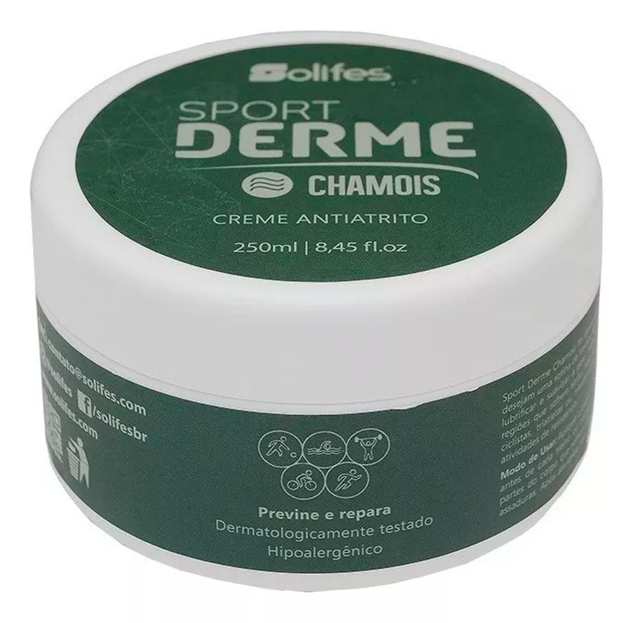 Creme Anti Atrito Endue Chamois 250ml Solifes