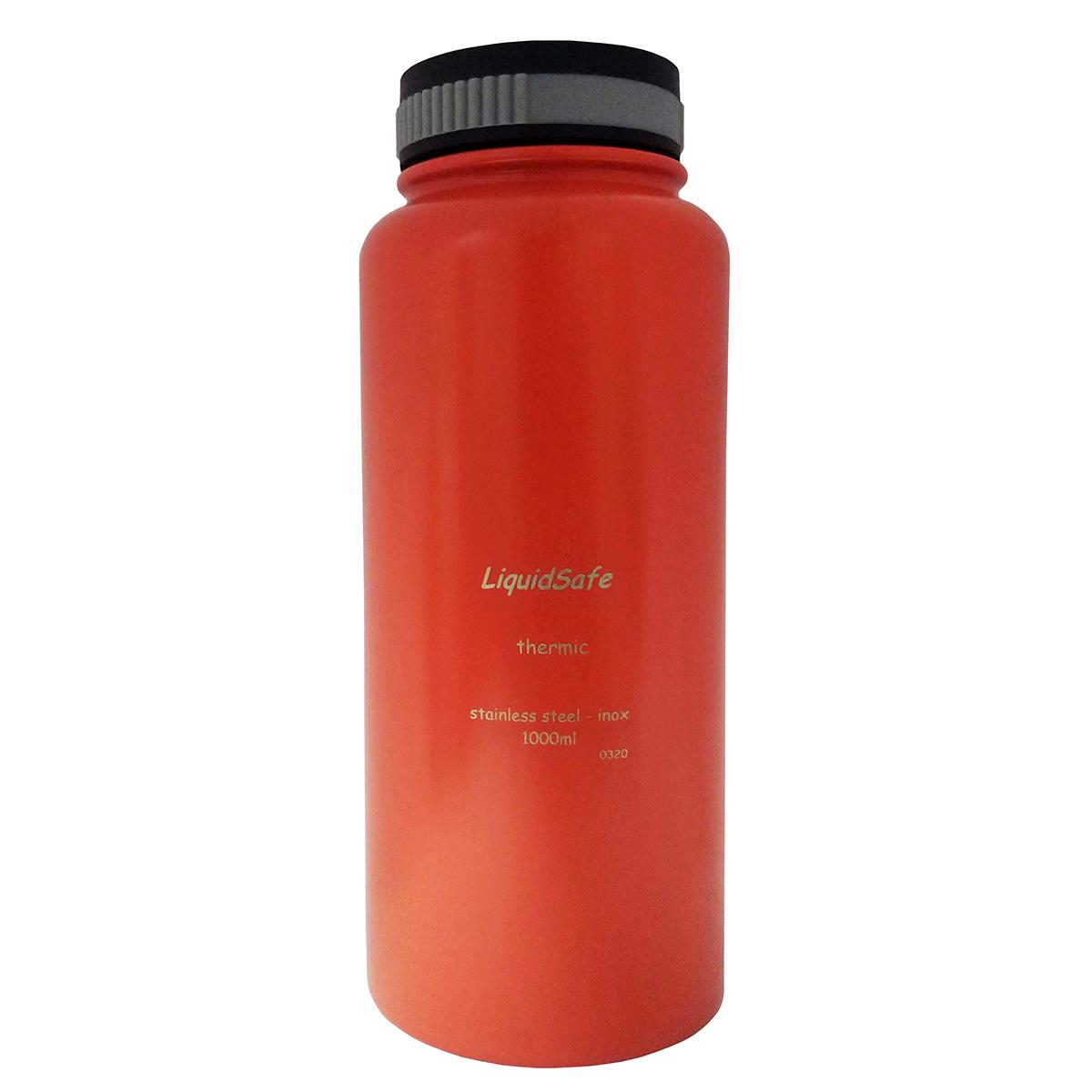 Garrafa Térmica Quente e Frio Inox 1L Liquid Safe