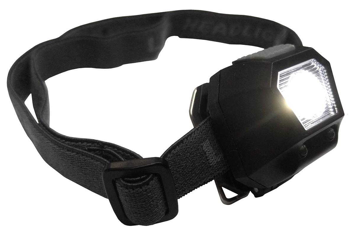 Lanterna de Cabeça Licht 25 Lumens c/ Strobo Alpen Pass