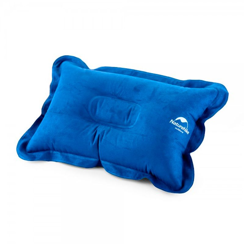 Travesseiro Aveludado Inflável Travel Pillow Naturehike