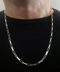 056a8b187e5 ... Corrente Cartier Masculina em Prata 925 - 60 cm ( 12.2g ) ...