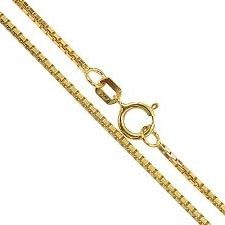 a706c7c9f2c12 Corrente Veneziana Feminina em Ouro 18k - 60 cm ( 1.3g )