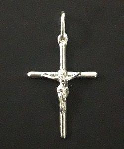 9f9e0ea6dc860 Pingente Crucifixo com Cristo em Prata 925 - 2