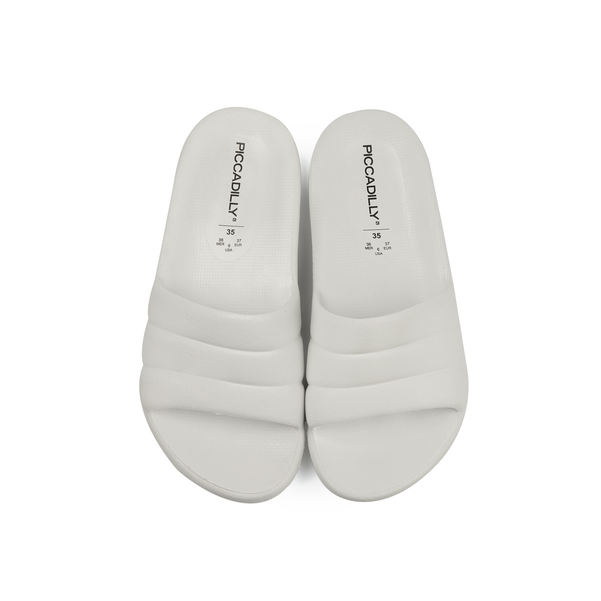 Chinelo Slide Piccadilly Marshmallow