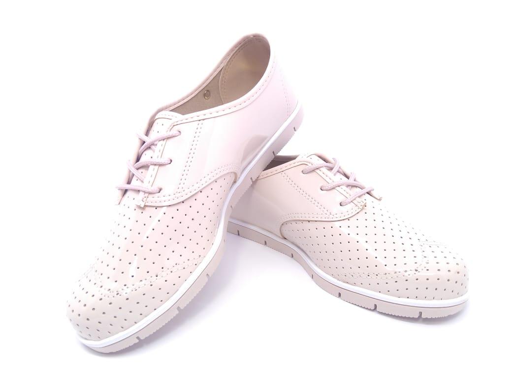 Sapato Oxford Moleca Verniz