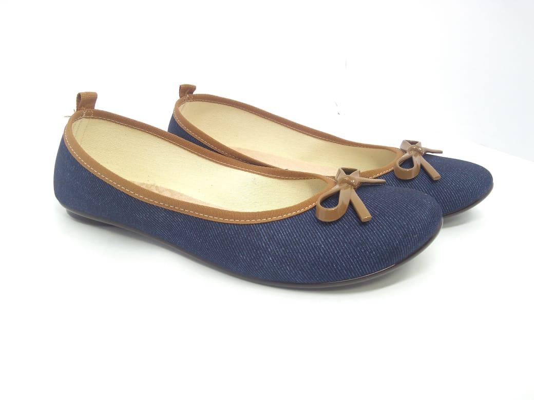 Sapatilha Jeans Moleca