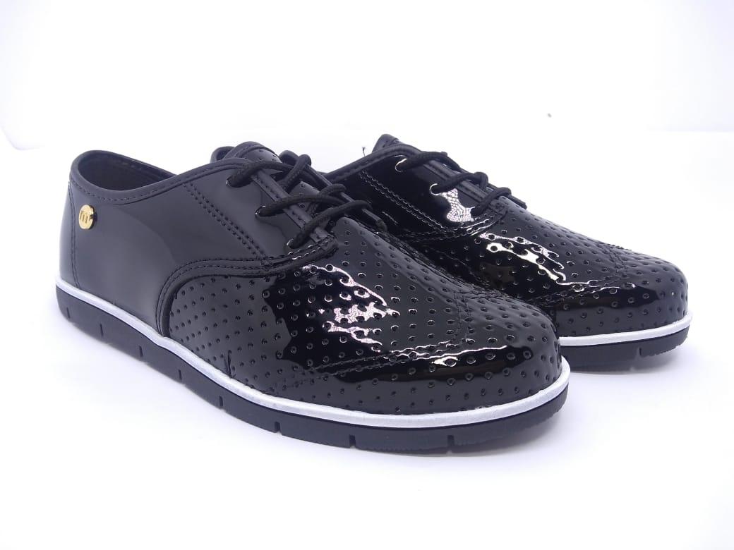 Sapato Feminino Oxford Preto