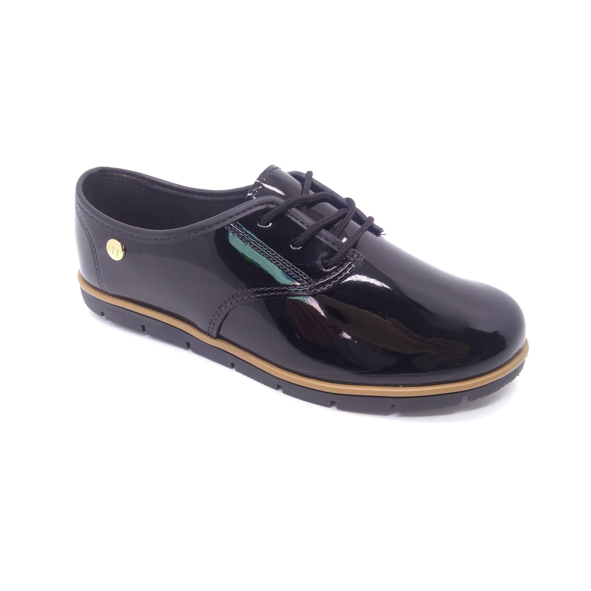 Sapato Oxford Feminino Preto