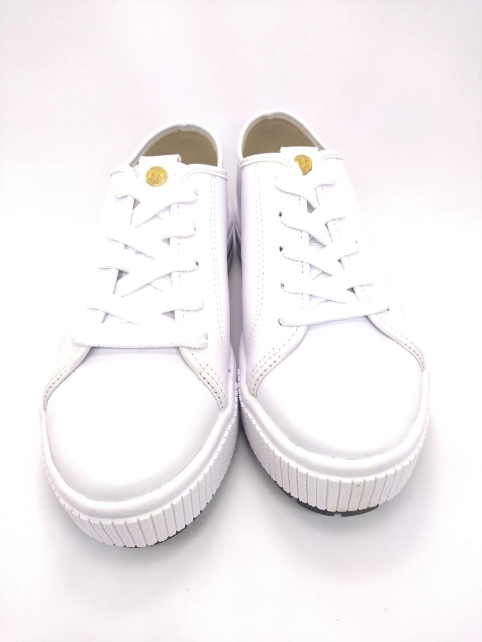 Tênis Moleca Flatform Branco