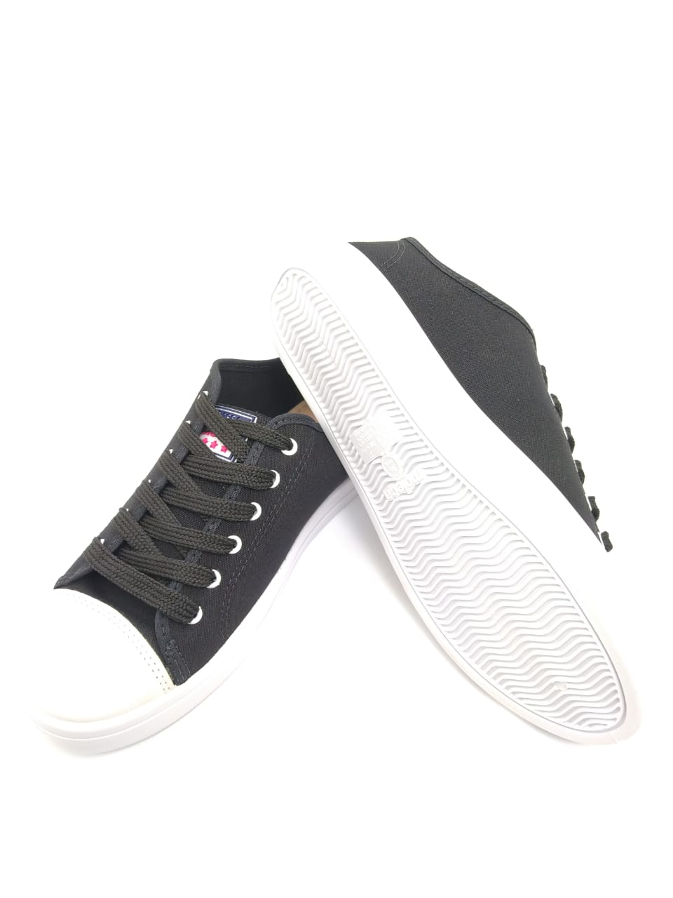 Tênis Moleca Preto Estilo All Star