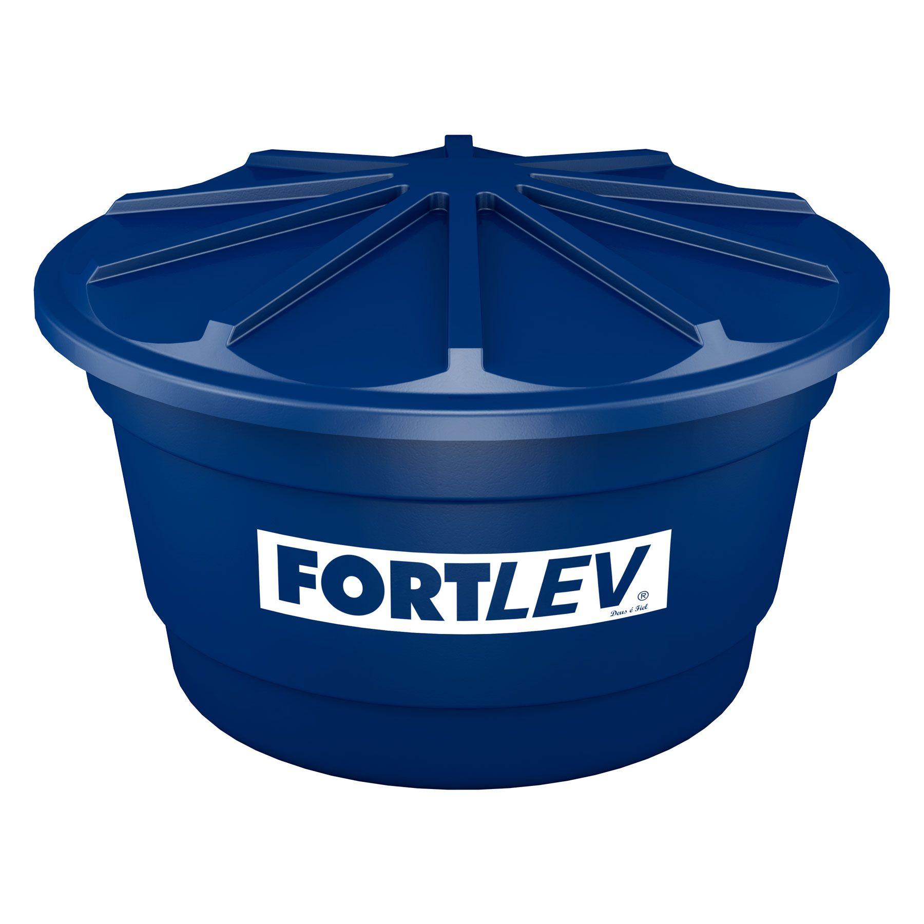 Caixa d'água Tanque de Polietileno Tampa Aberta - FORTLEV