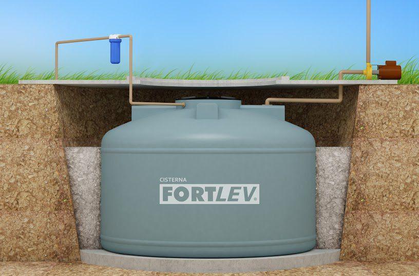 Cisterna Vertical Fortlev