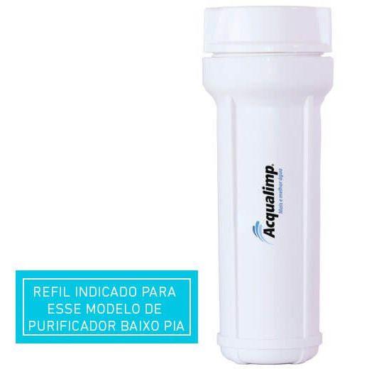 Refil do Filtro de Agua Baixo Pia (BP) Acqualimp
