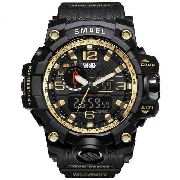 221d374f6c5 Relógio Masculino Militar G-shock Smael 1545 Prova D água