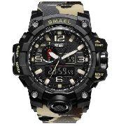 731094fc65d Relógio Masculino G-shock Smael 1545 Prova D água Camuflado - SUPER25