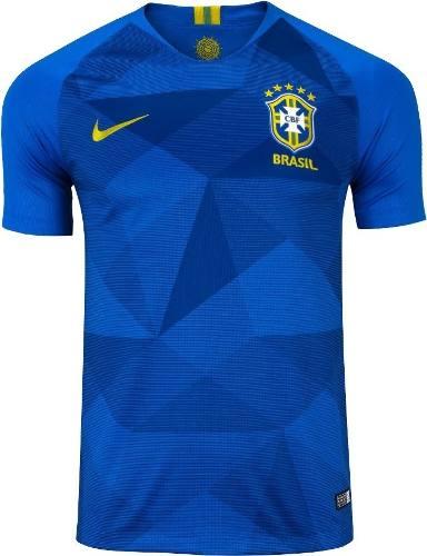 Camisa Oficial Seleção Brasileira Azul Reserva Nike Original - SUPER25 e0406f08e0ced