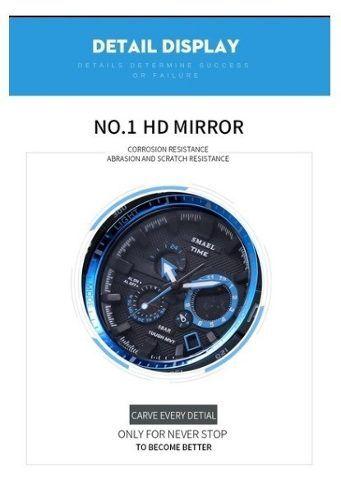 8bf35043b20 Relógio Time S-shock 1531 Esportivo A Prova D água Laranja - SUPER25