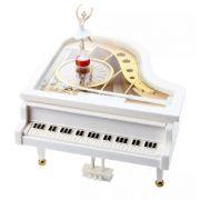 Caixinha de Musica Piano com Bailarina á Corda