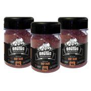 Dry Rub Tempero para Suinos e Frangos Brutus 160g 03 potes