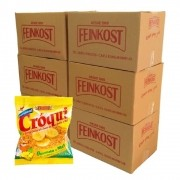 Granola Croqui Banana e Mel 30g 06 caixas de 50 saches