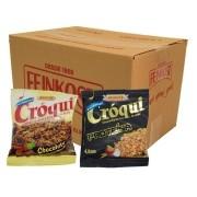 Granola Croqui Chocolate e Proteina Caixa Mista 50 saches