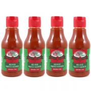 Kit Molho de Pimenta Mendez 215ml 04 Red Pepper Habanero