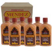 Kit Molho Pimenta Mendez 450ml 06 Cremosa Defumada Chipotle