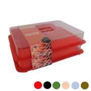 Porta Frios Plastico Organizador Resistente 02 pçs