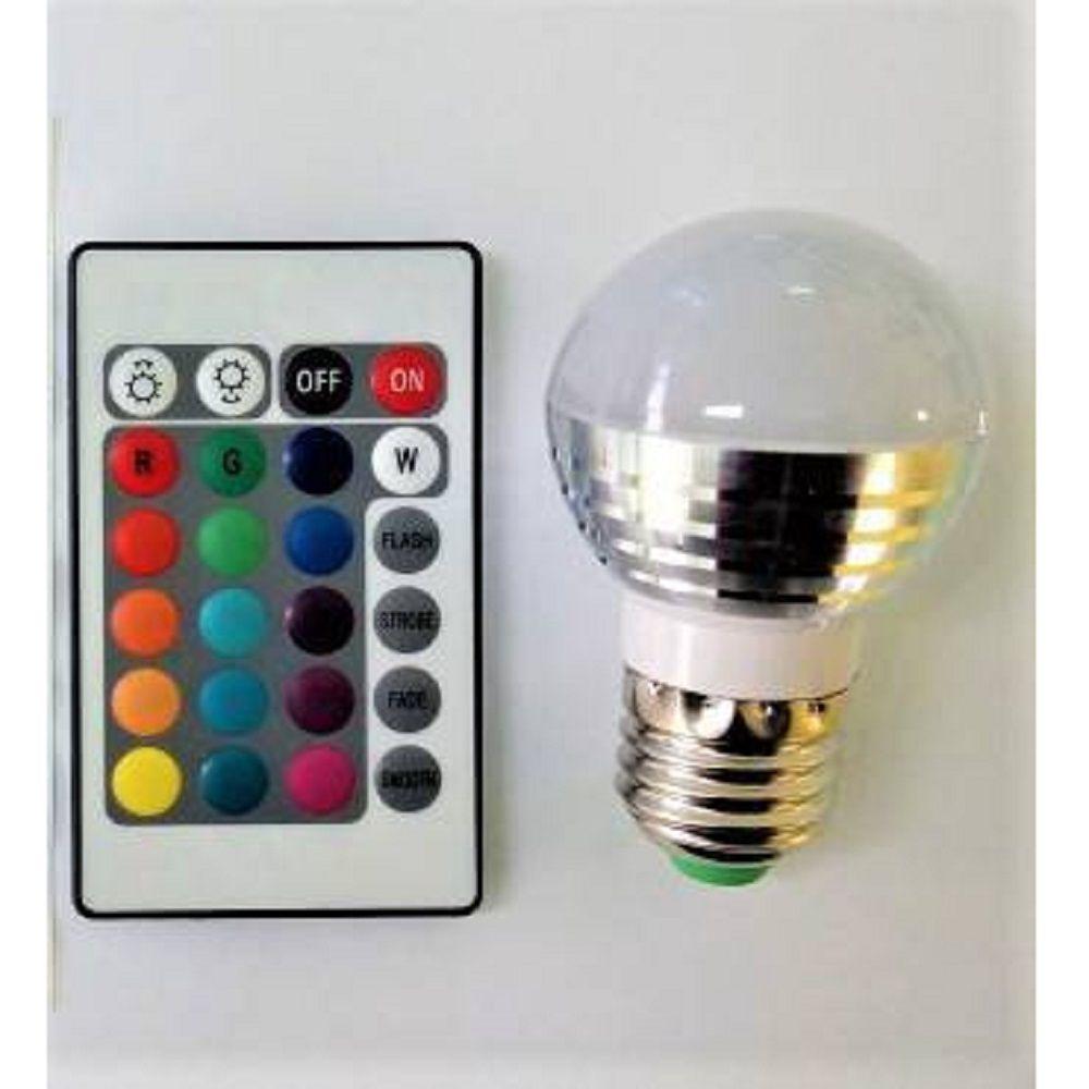 Abajur Luminária Botão PlayStation® PS4 Led RGB com Fio