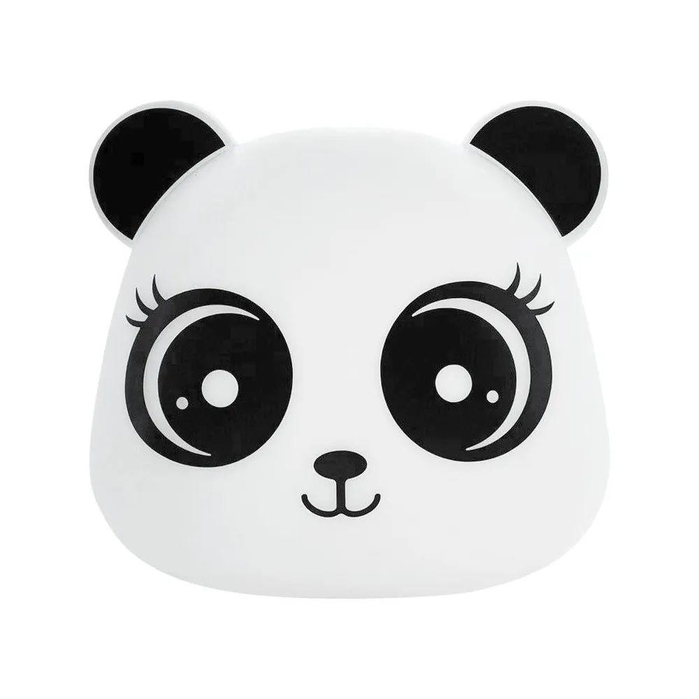 Abajur Luminária Panda Menina Bivolt com Fio Decorfun