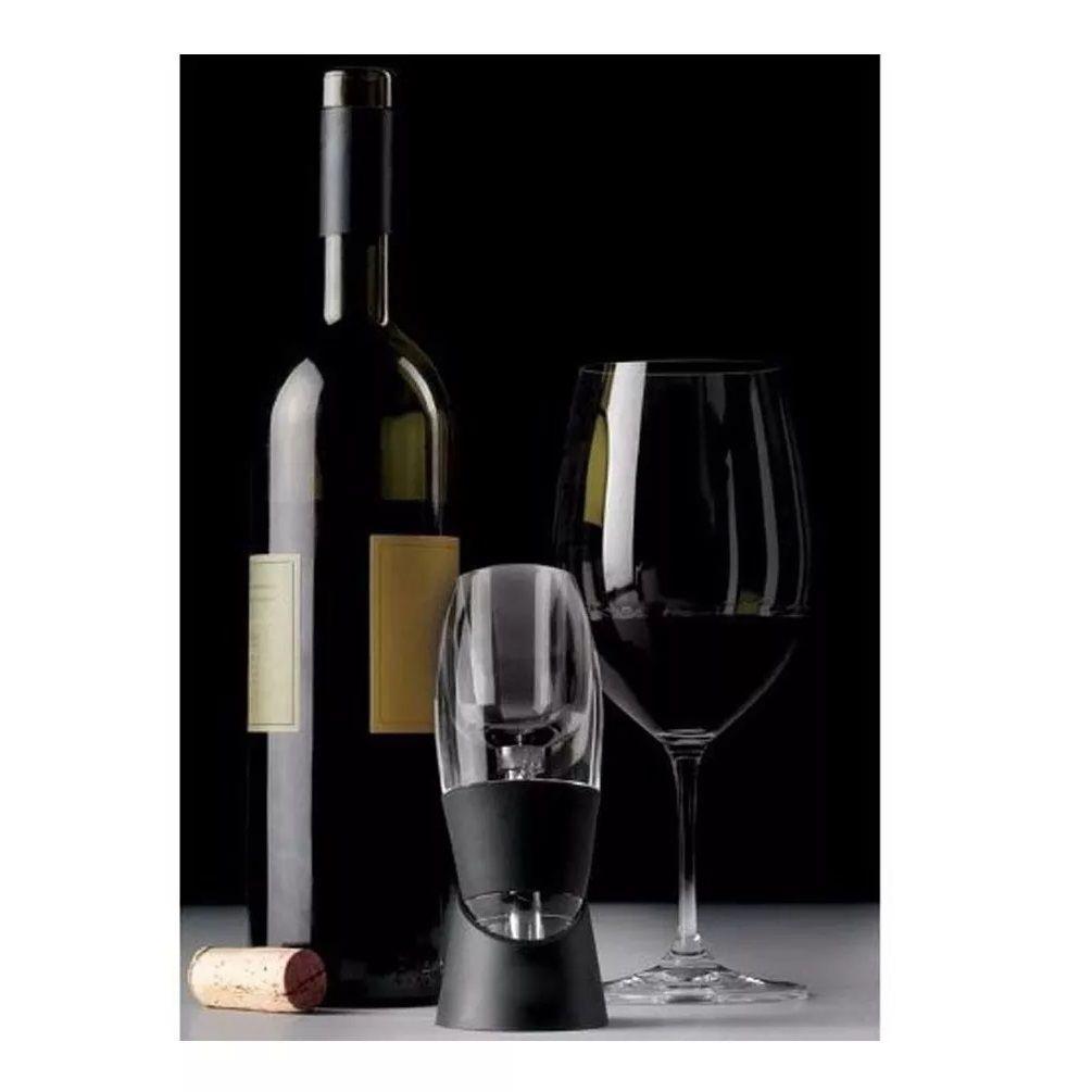 Aerador Decantador de Vinho Tipo Torre Instantaneo