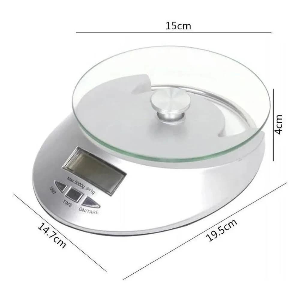 Balança de Cozinha Eletronica Digital até 5kg UnyHome