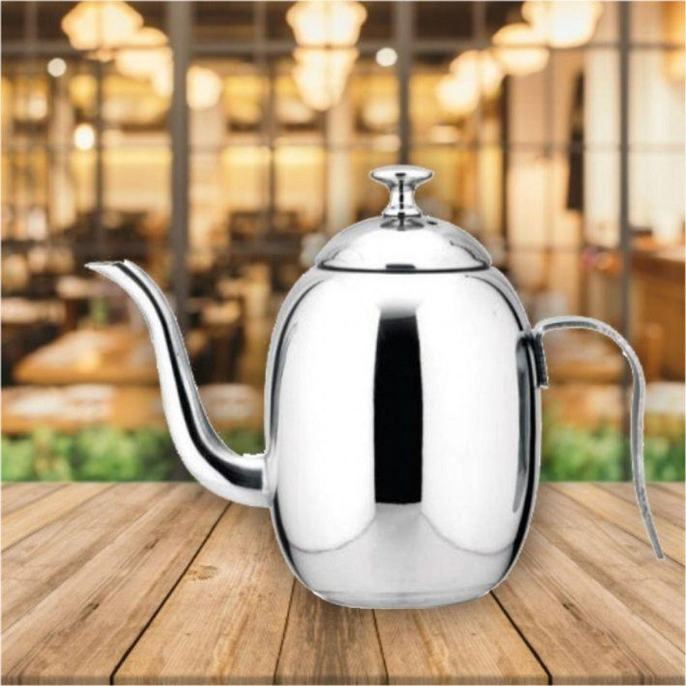 Bule Bico Fino Inox para Servir Café Leite Chá 400ml