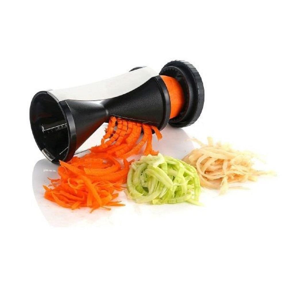 Cortador Ralador de Legumes em Espiral Fatiador Espiralizador