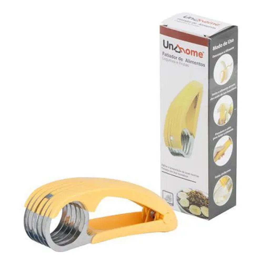 Fatiador Cortador de Bananas Legumes e Frutas Aço Inox